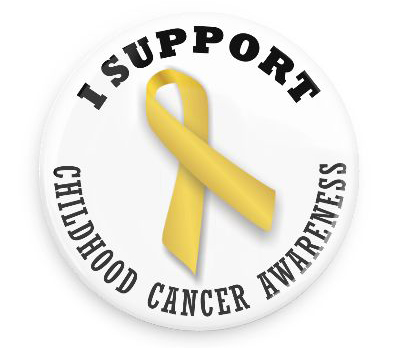 I Support Childhood Cancer Awareness