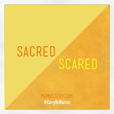 Sacred-Scared