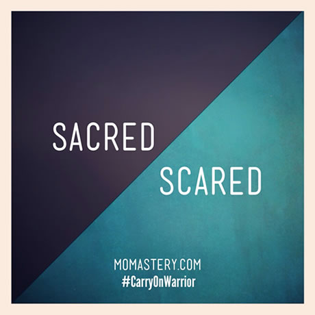 Sacred-Scared