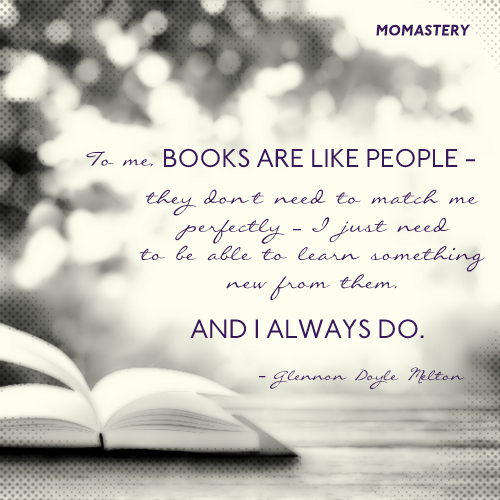 Books are like people