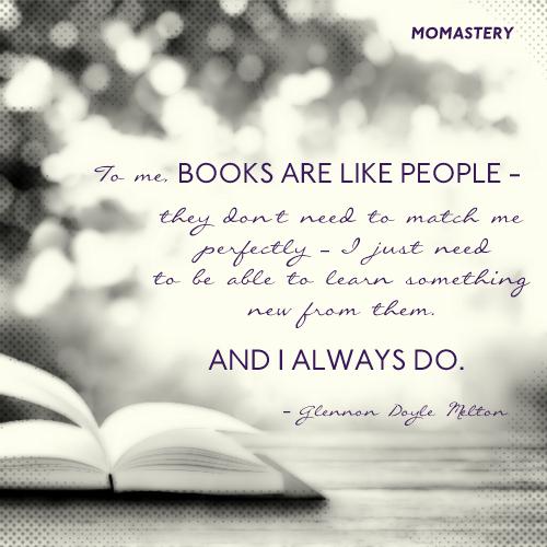 Books are like people
