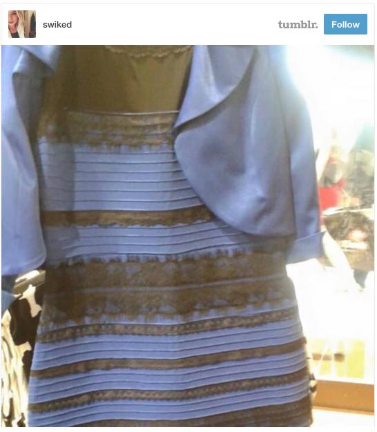 Dress Seen Round the World