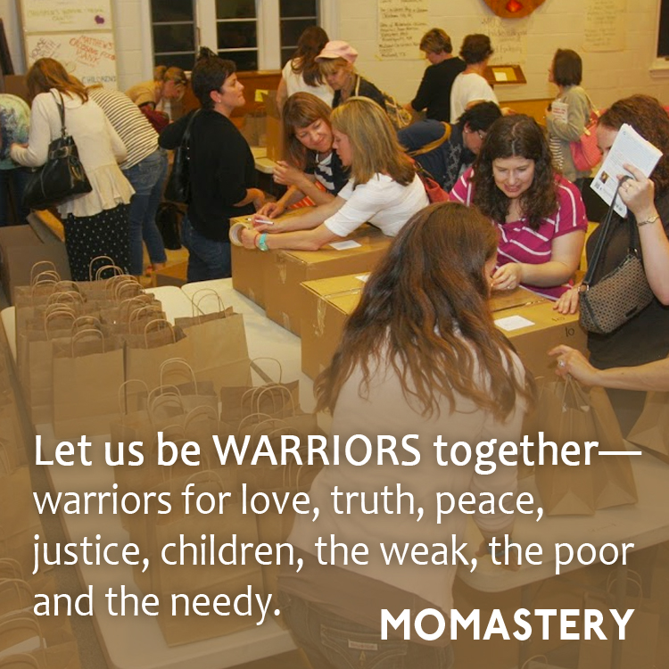 Let Us Be Warriors Together