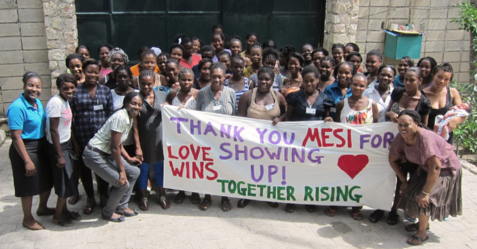 Mesi from Haiti