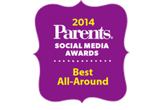 Parents.com Social Media Awards - Best All Around Winner