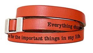 Brian Andreas bracelet