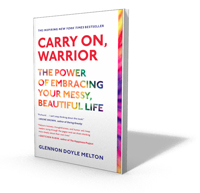 Signed copies of Carry On, Warrior